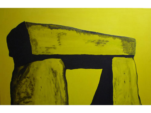 Stonehenge 2 - Oil on Canvas