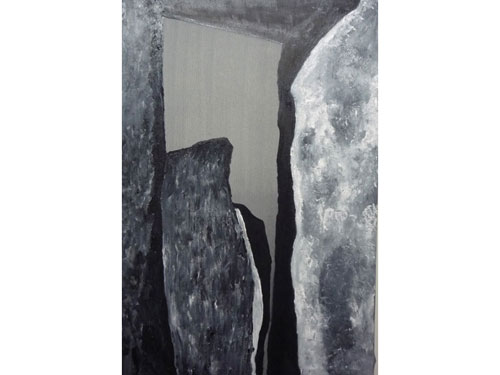Stonehenge 4 - Oil on Canvas