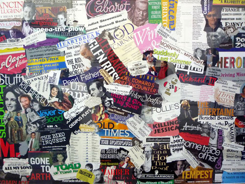 That's Entertainment 2 - Collage on board