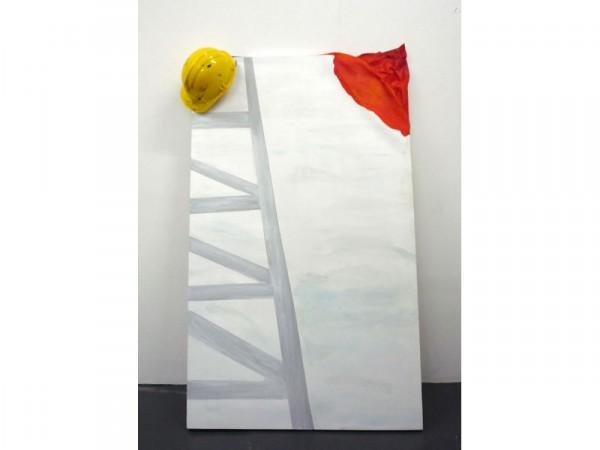 Stay Away - oil on canvas - 60cm x 120cm - November 2011