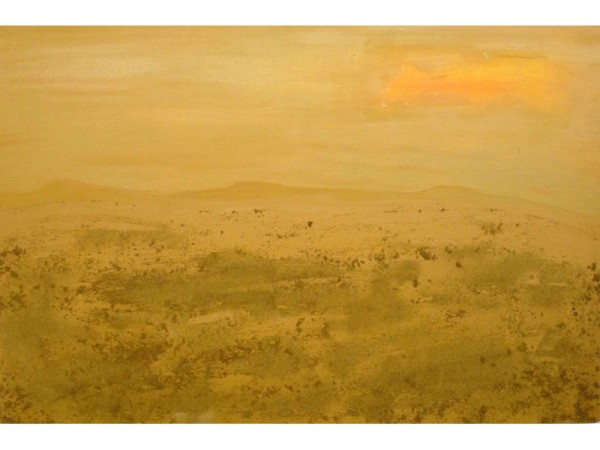 Still untouched - oil & sand on canvas - 90cm x 60cm - October 2011