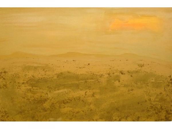 Still untouched - oil & sand on canvas - 90cm x 60cm - October 2011