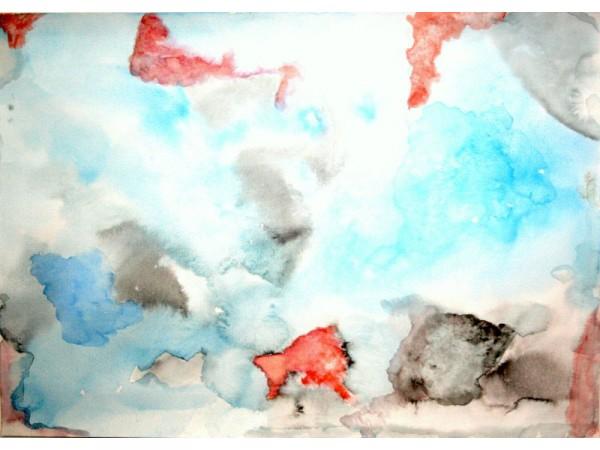 Antarctica 3 - watercolour on paper - 30cm x 20cm - December 2011