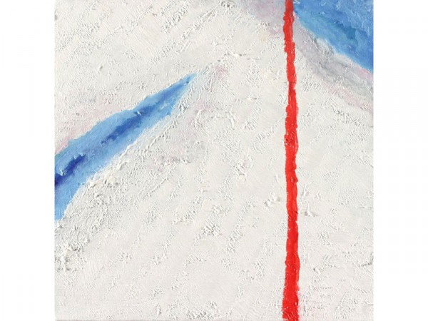 Blood and Ice - oil on canvas - 30cm x 30cm - January 2012