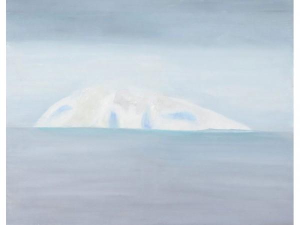 Iceberg - oil on canvas - 50cm x 30cm - January 2012