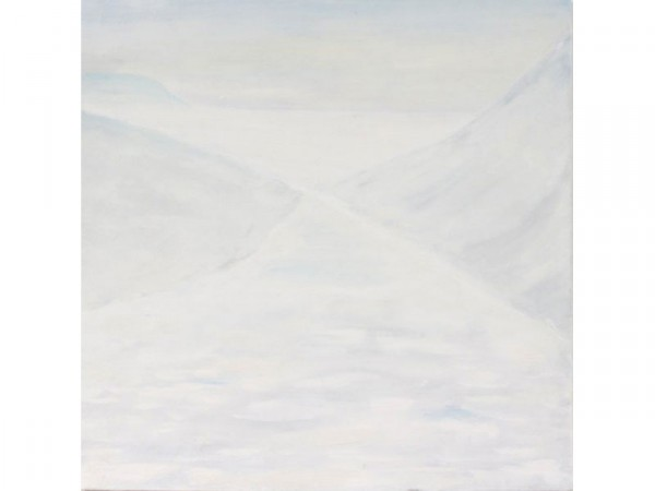 To the South Pole - oil on canvas - 90cm x 90 cm - January 2012