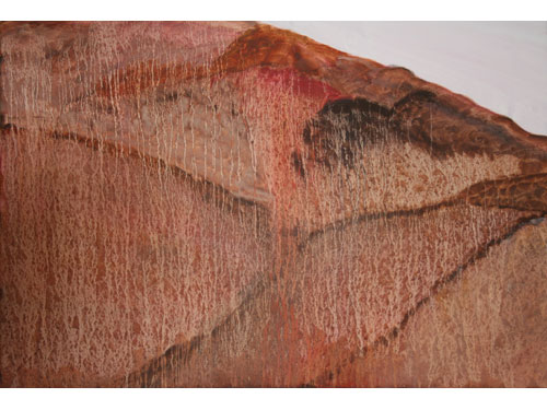 Mars After Rain? - 85cm x 85cm - Oil on canvas