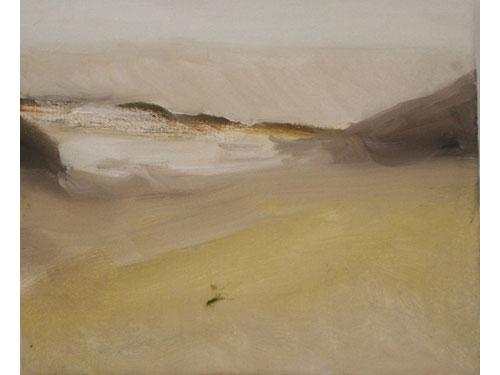 Skeleton Coast (Namibia) - Oil on Canvas - 25 x 30 cm