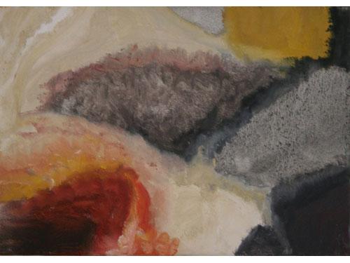 Chemical Land - Oil on Canvas - 25 x 35 cm