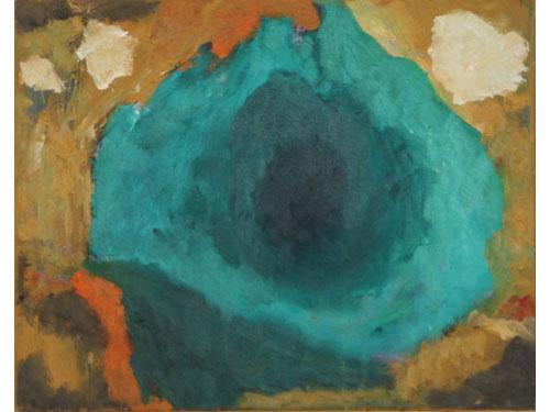 Cyanide Lake - Oil on Canvas - 40 x 50 cm