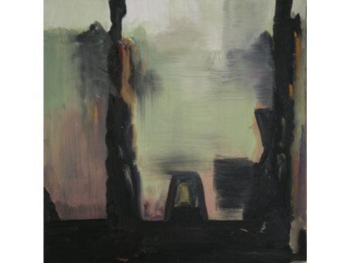 Kafka's Garden - Oil on Canvas - 41 x 41 cm