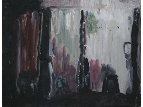 Kafka's Trees - Oil on Canvas - 35 x 45 cm