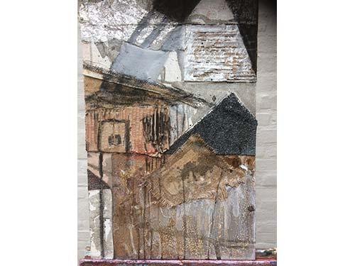 Abstract 2: mixed media on board